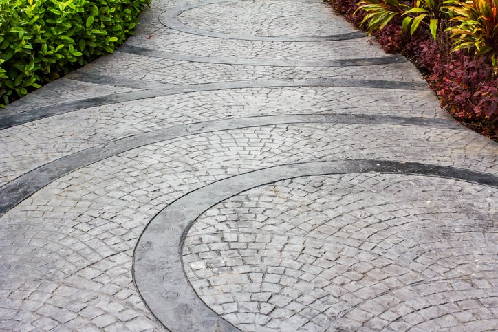 Decorative Stamped Concrete Patterns in Rochester, NY | Western NY Concrete Corp