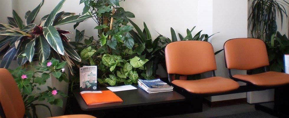 Sala d'attesa poliambulatorio a luino