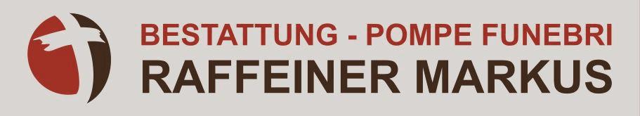 Bestattung - pompe funebri raffeiner markus - logo