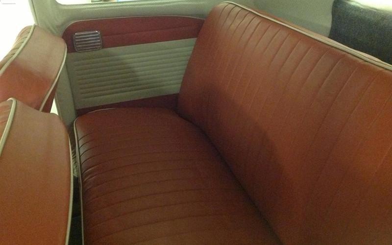 Rifacimento interni auto d'epoca - Maggiolino Volkswagen