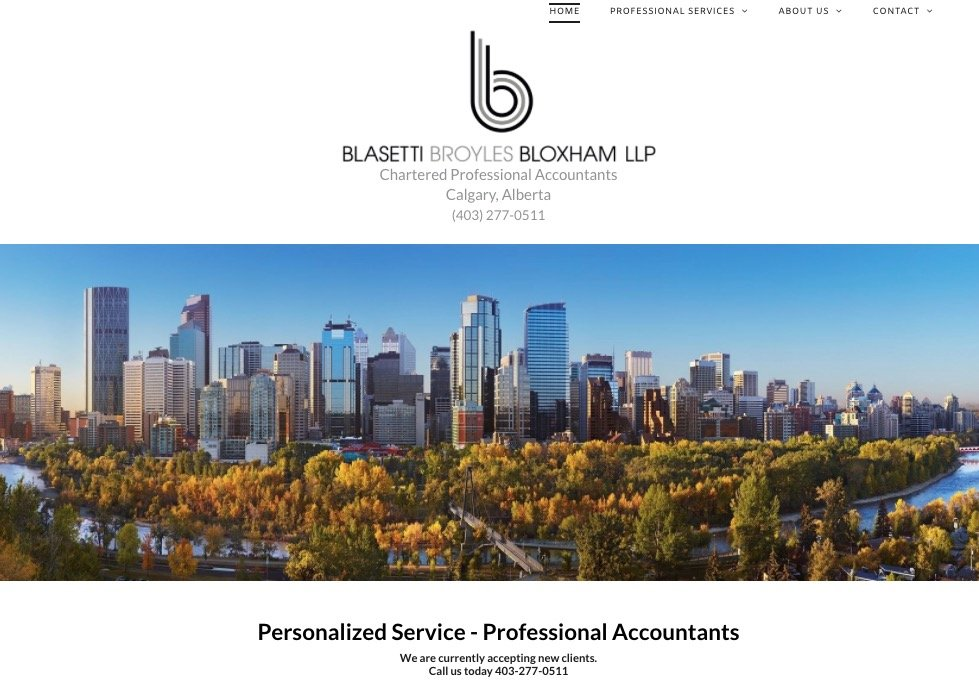 BBBLLP CALGARY ACCOUNTANTS