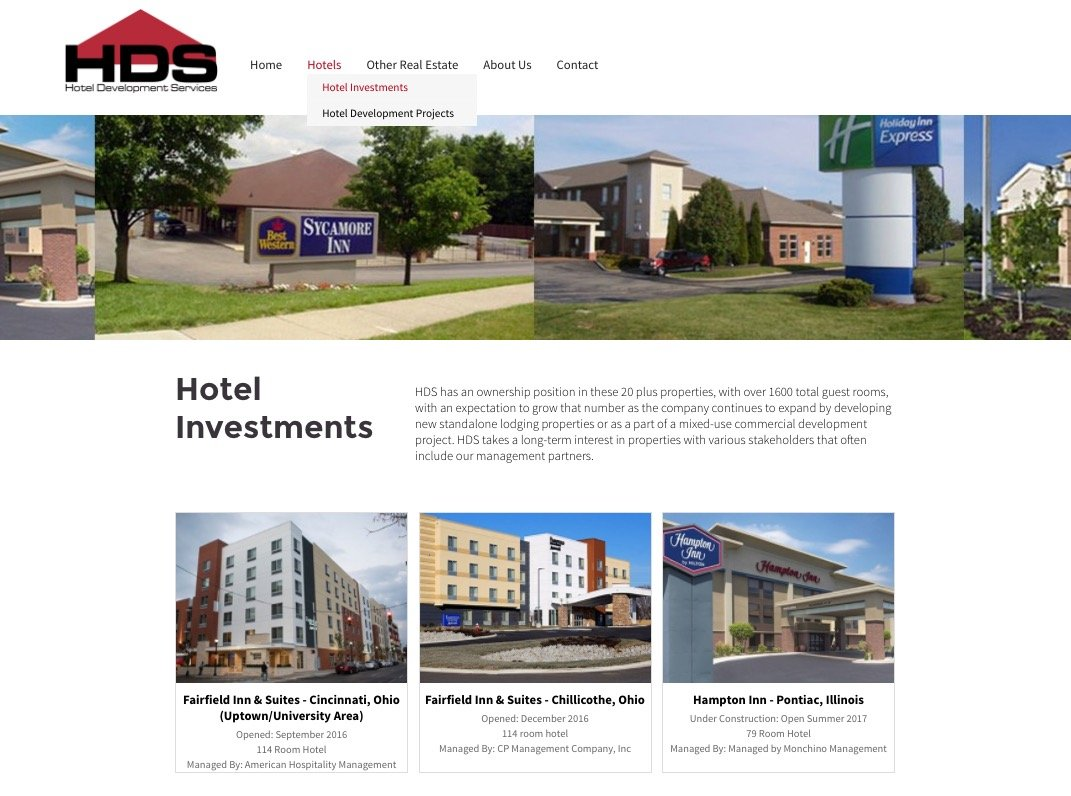websites for hotel builders
