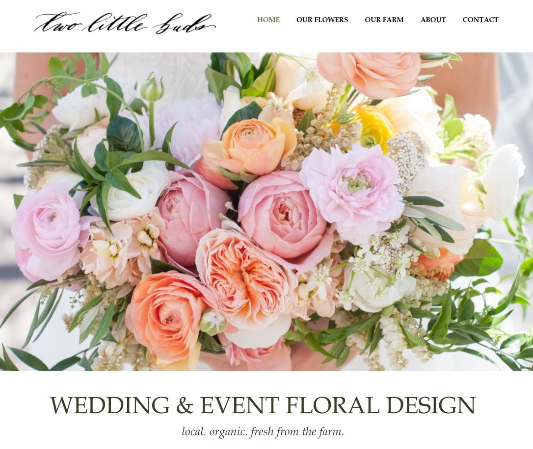 websites designed for florists