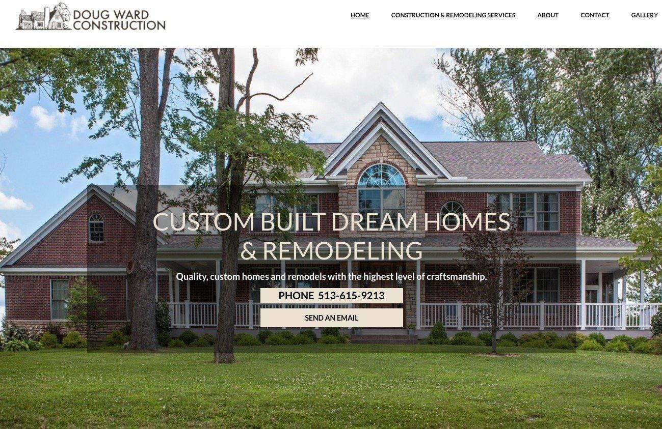 oxford website design for home builder