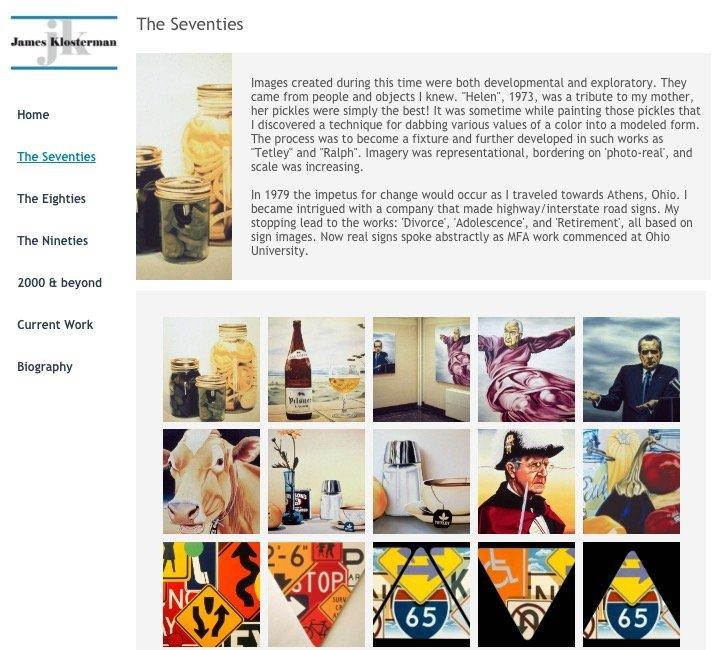 oxford ohio website design artist