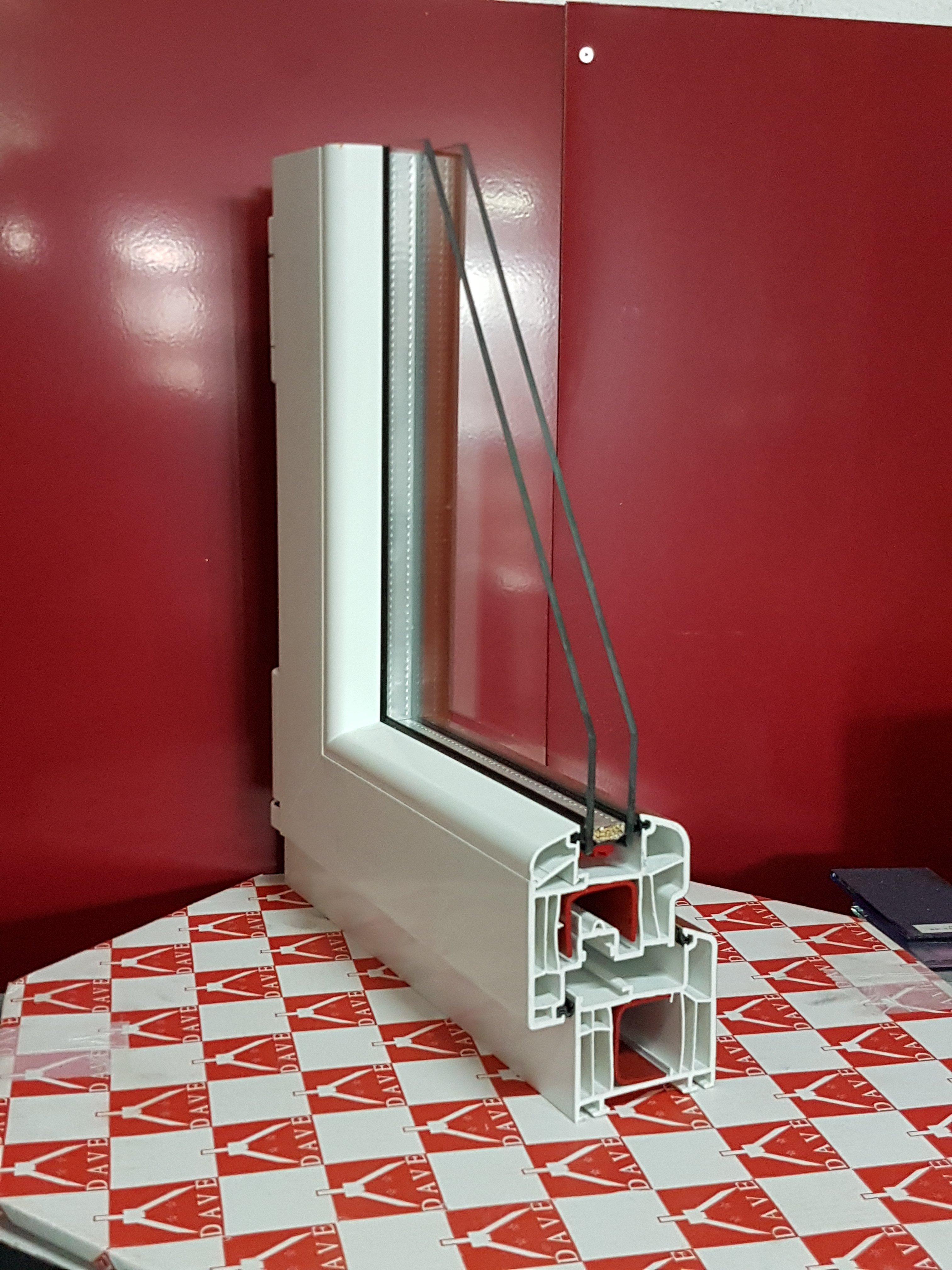 Telaio in pvc per finestre