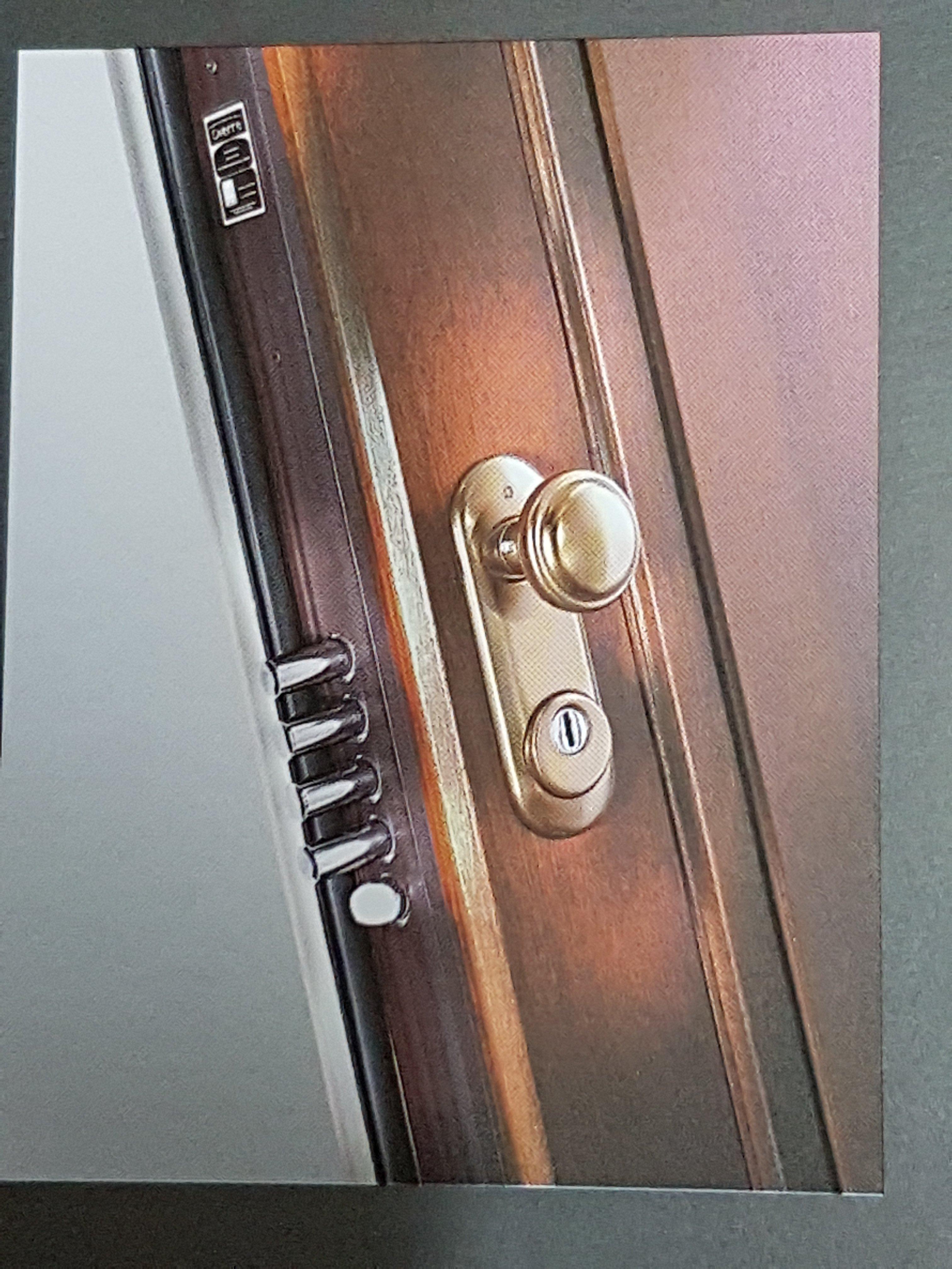 Serratura di una porta blindata