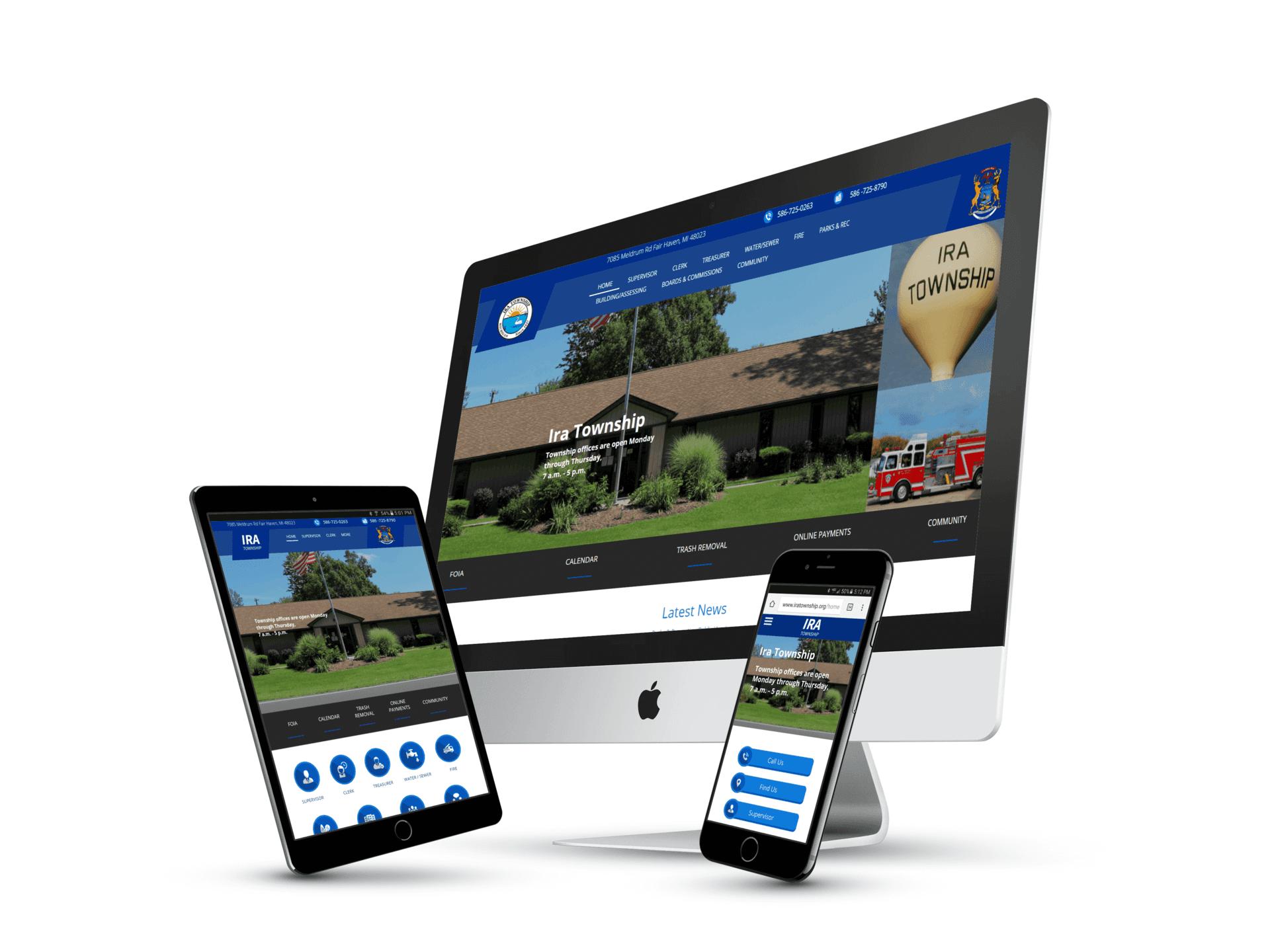 Ira Township Website