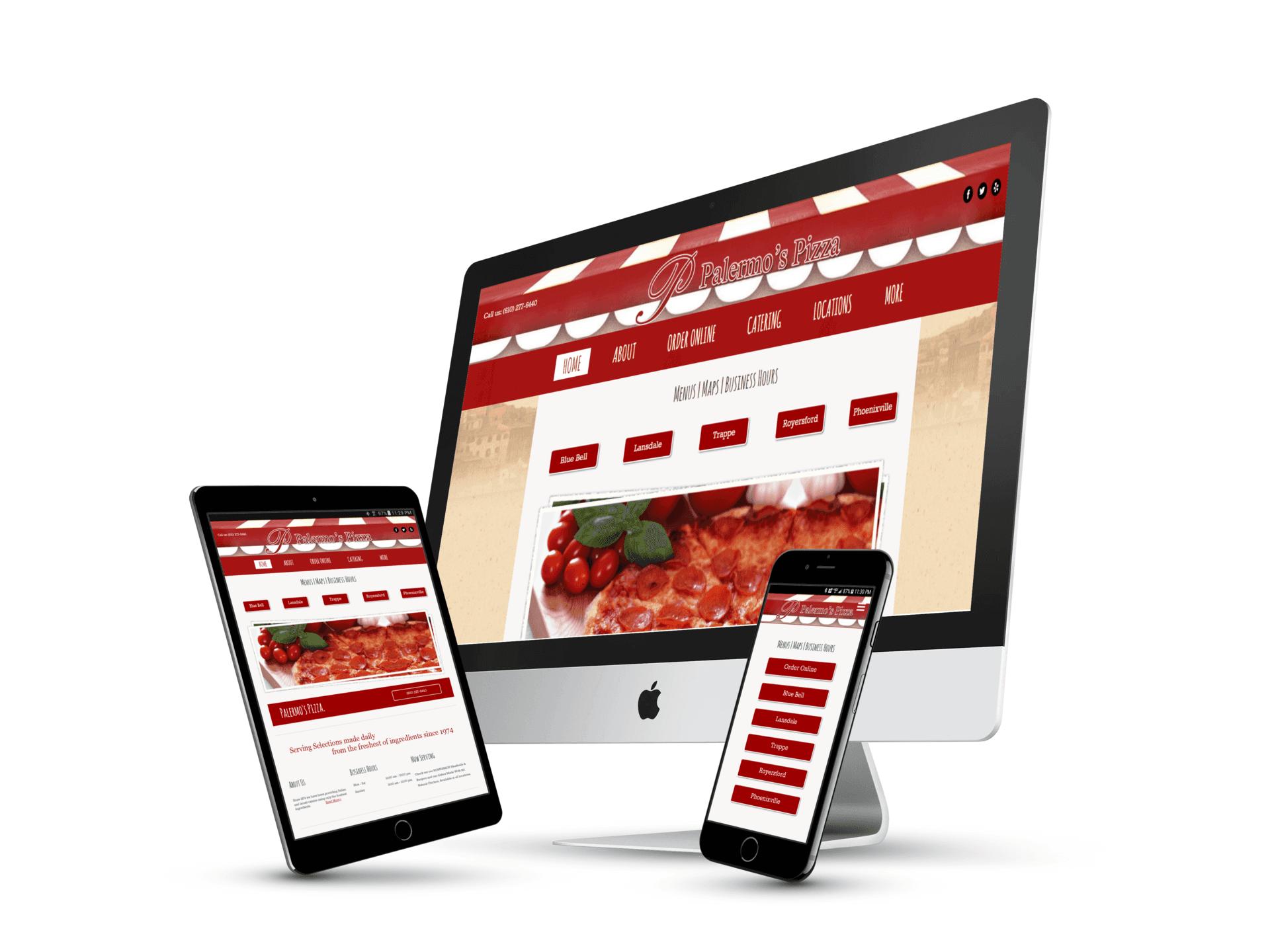 Pizza Restaurant Website