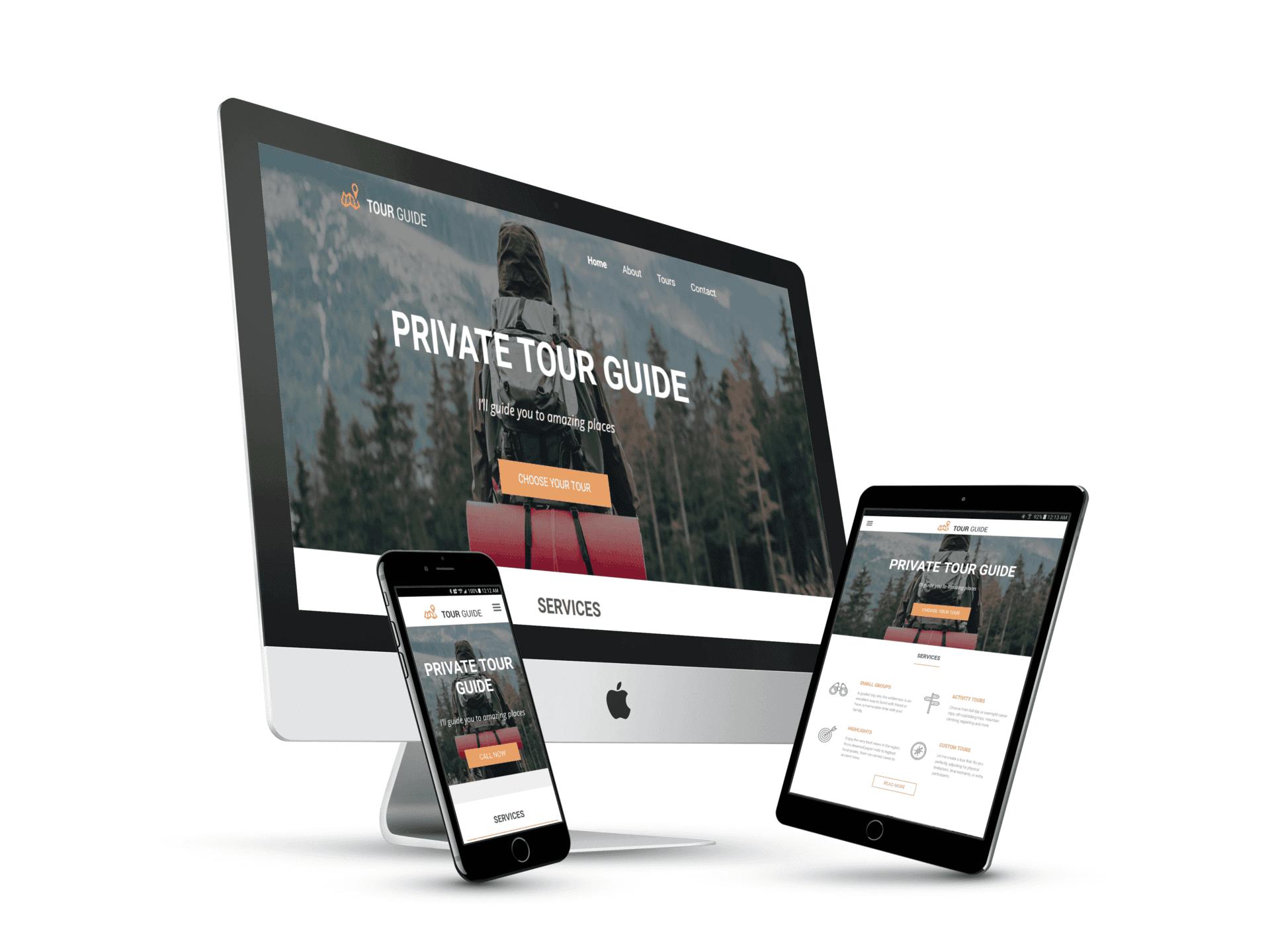 Private Tour Website