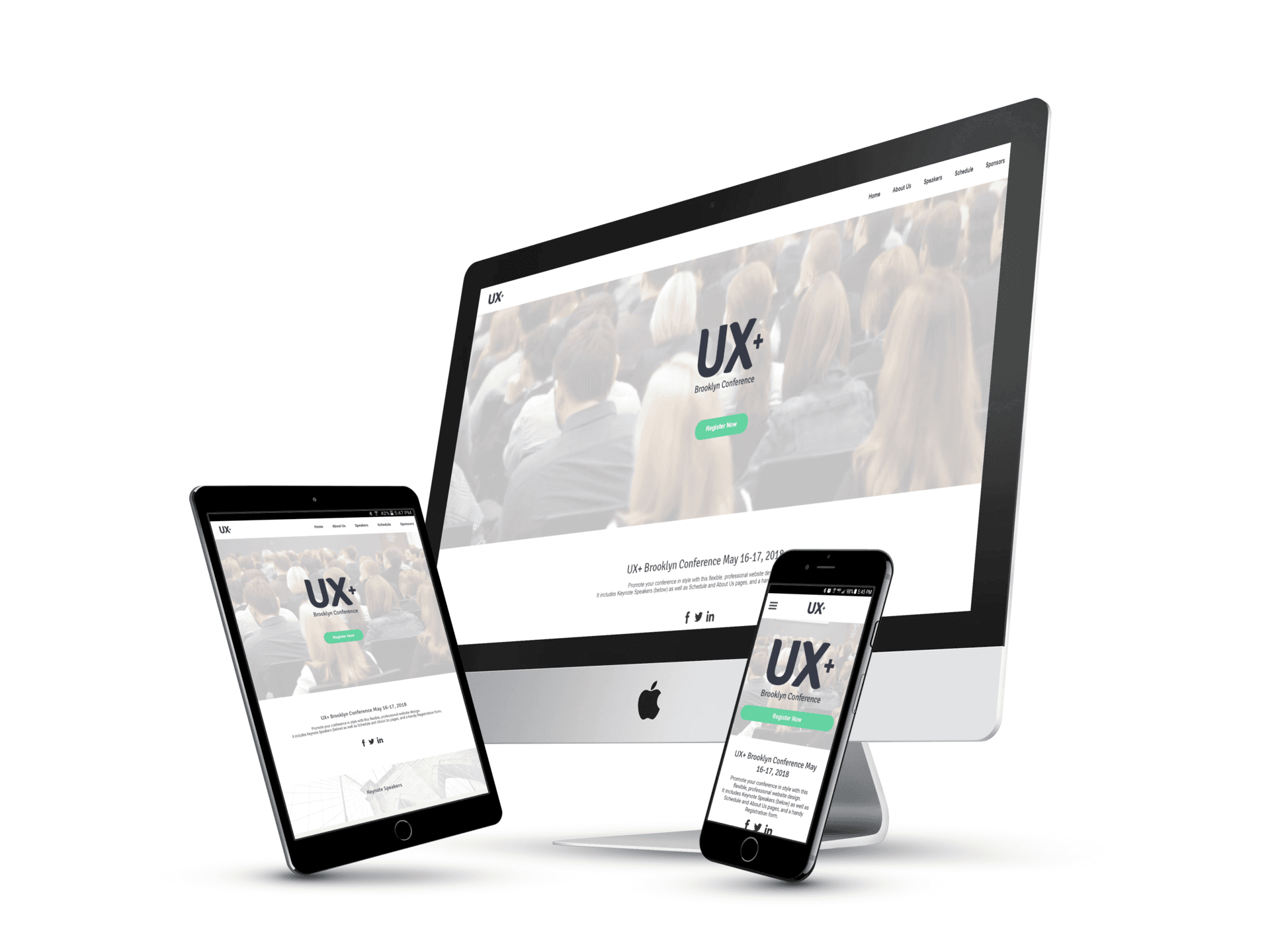 Conference Website Design