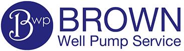 Brown's Well pump Service