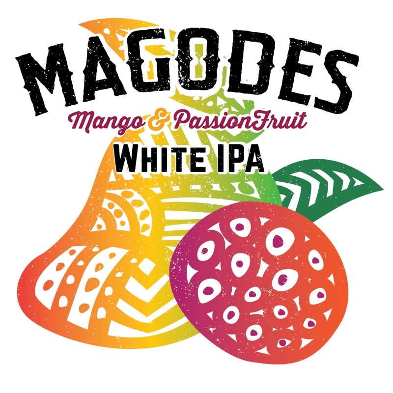Magodes White IPA with Mango & Passion Fruit