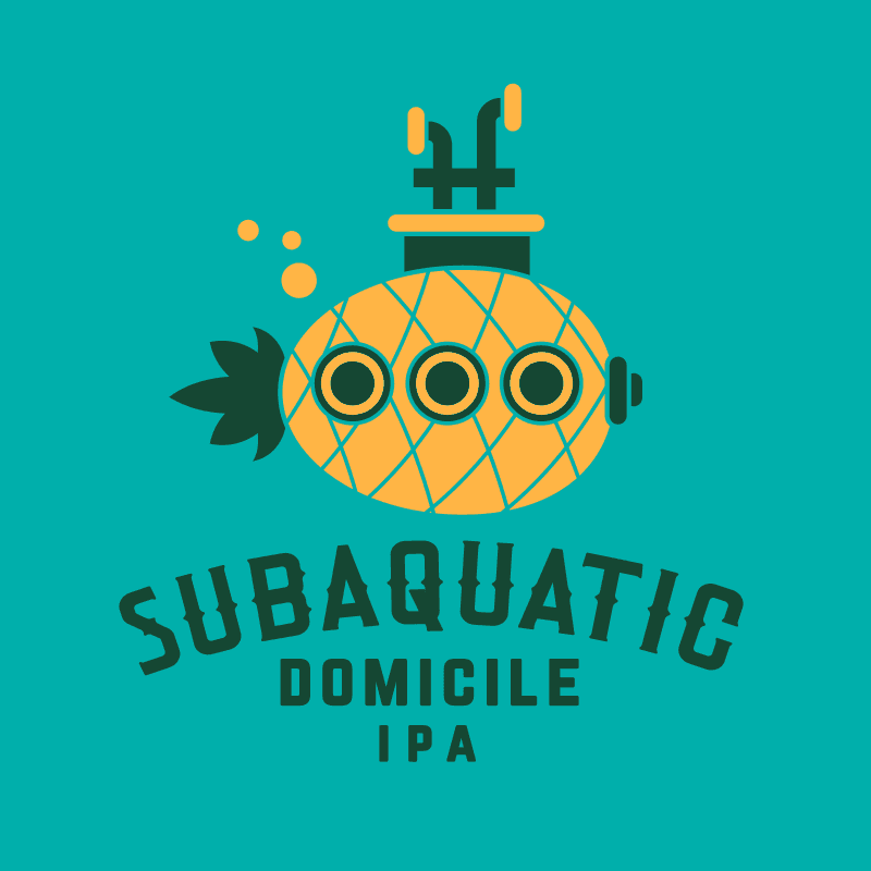 Subaquatic Domicile Pineapple IPA