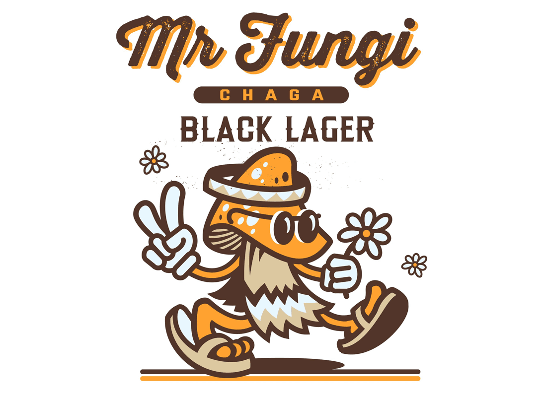 Mr Fungi Black Lager