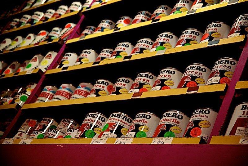 Vernici di vario colore - Colorificio Faro