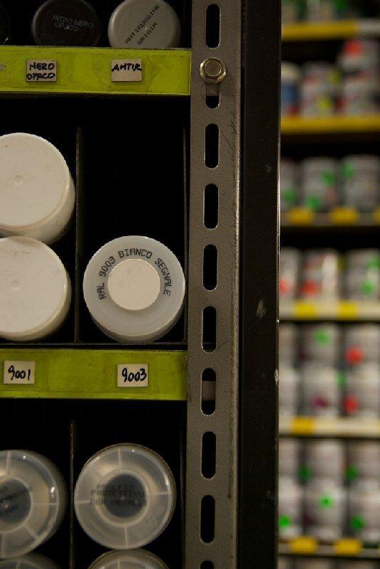 Bombolette spray di colore bianco - Colorificio Faro