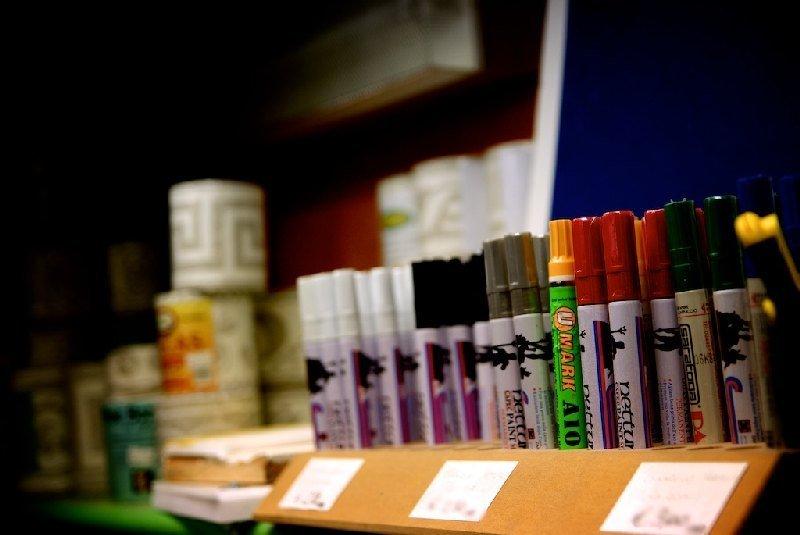 Pennarelli indelebili di vario colore - Colorificio Faro