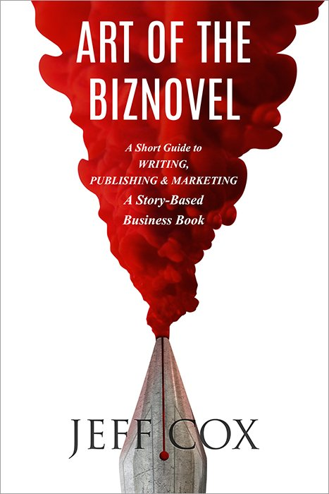 Cover of the book, ART OF THE BIZNOVEL