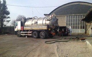 raccolta rifiuti - cisterna