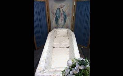 imbottitura cofani funebri