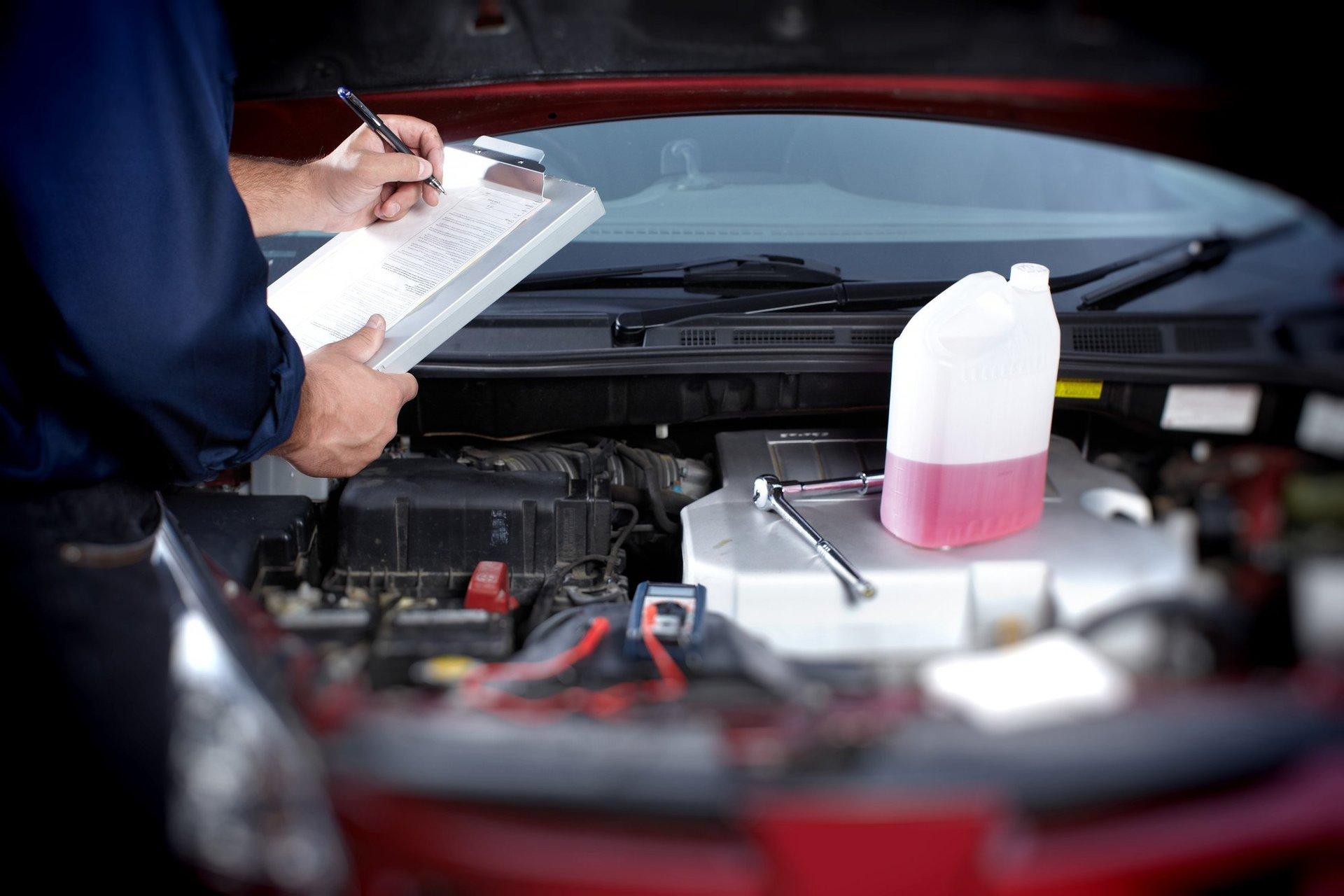 Vehicle servicing