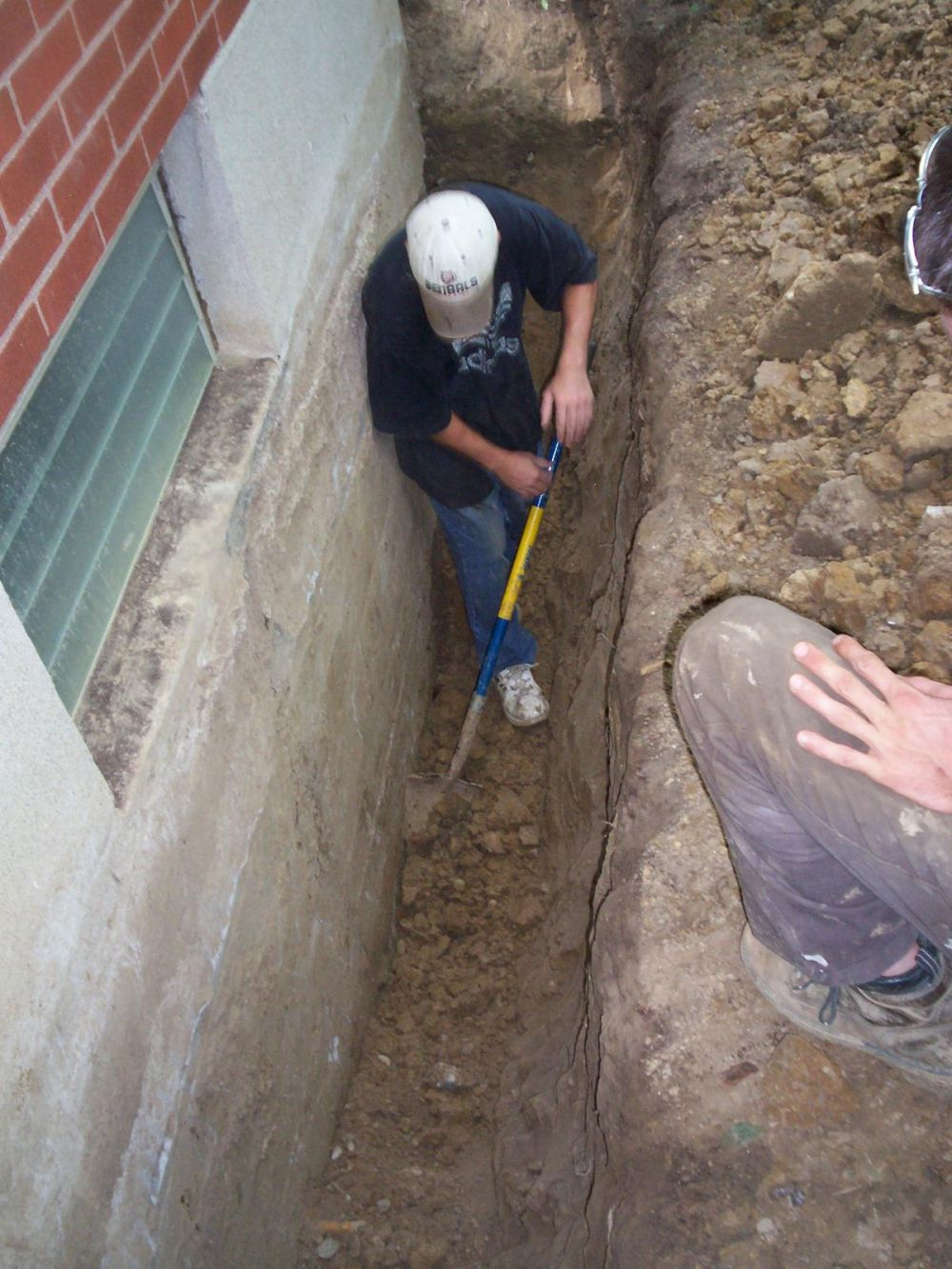 exterior excavation in Independence, KY