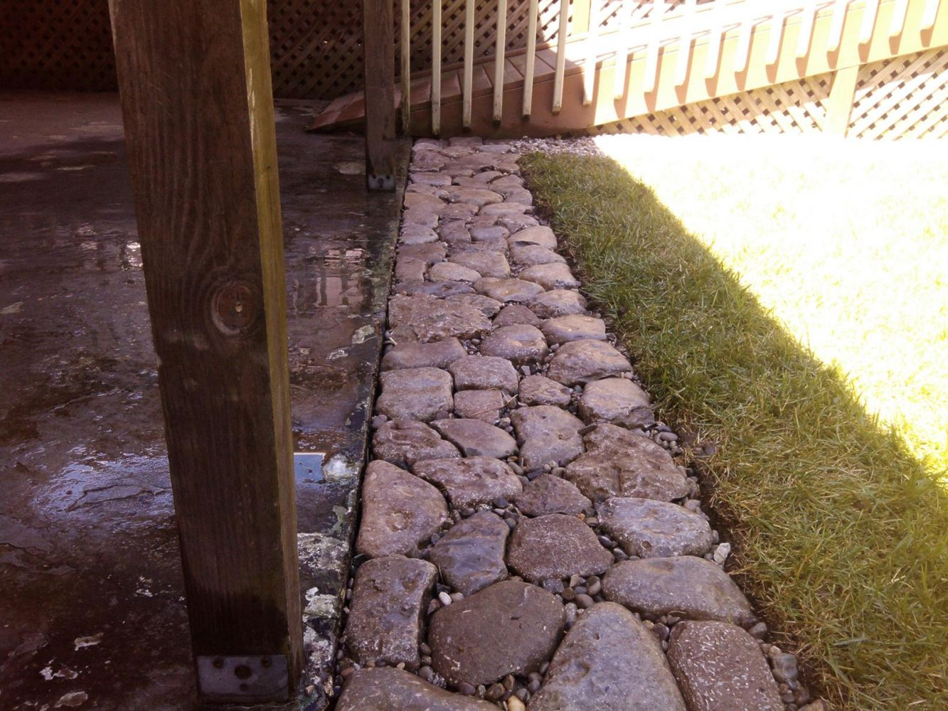 Drainage systems in Independence, KY