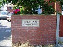 Care homes - Knott End-on-Sea, Poulton-le-Fylde - St Albans Nursing Home - Bricks