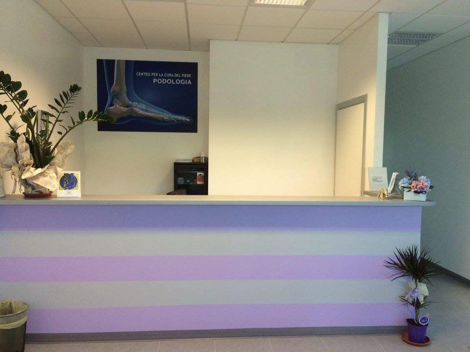 centro podologico per la cura del piede - reception