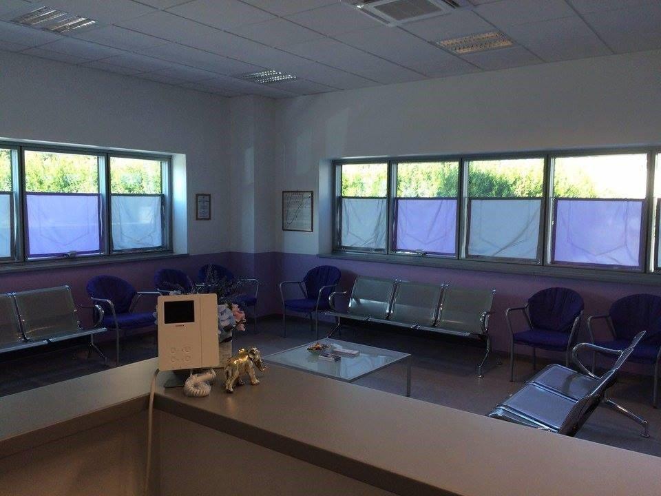 centro podologico per la cura del piede - sala d'attesa