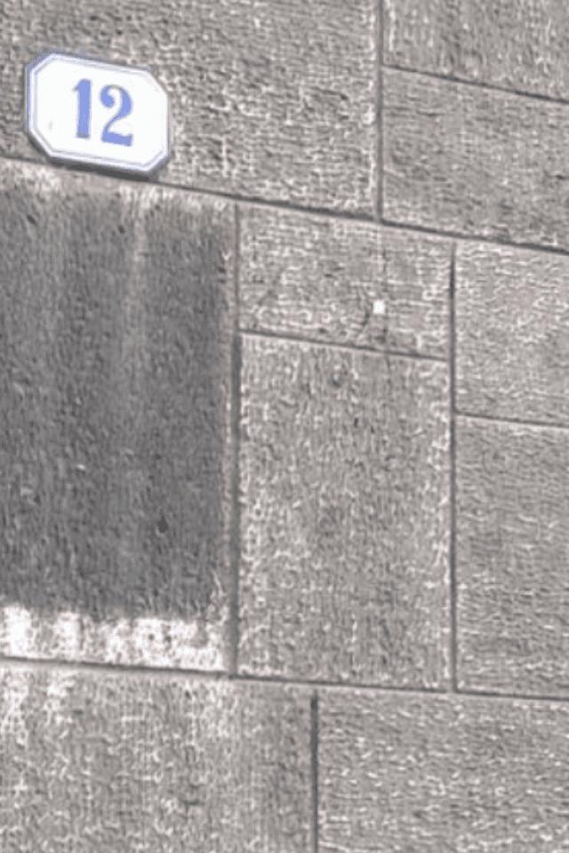 particolare di un muro in pietra
