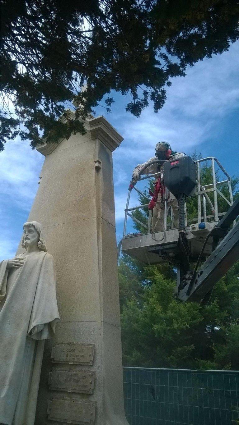 restauro tomba di famiglia