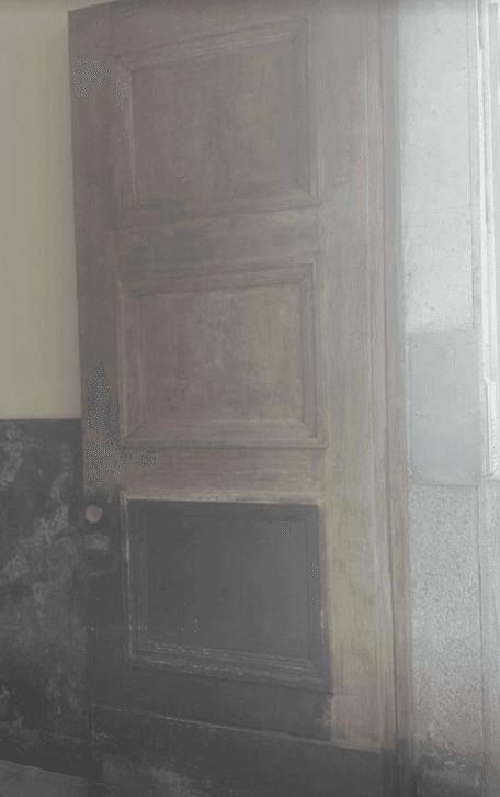 porta da verniciare