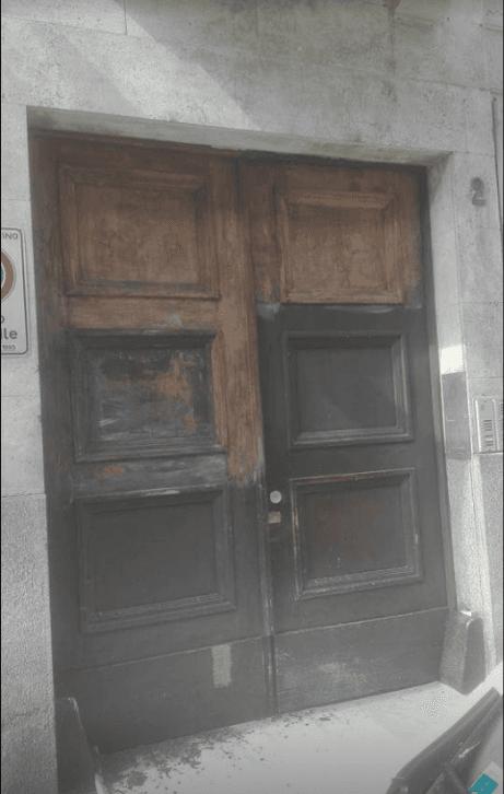 restauro portone di ingresso