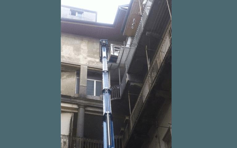 ristrutturazione di un balcone