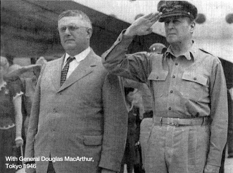 General Douglas MacArthur in Tokyo, 1946