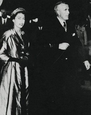 Majesty Queen Elizabeth II visits Leura