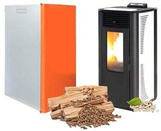 Stufe e caldaie a pellet poggiridenti sondrio aev assistenza - Stufe a pellet per riscaldamento termosifoni ...
