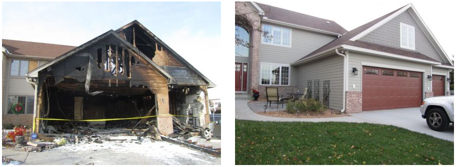 Fire Damage Restoration Chanhassen MN.