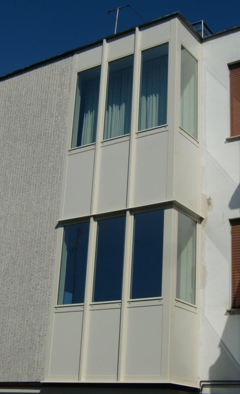 chiusura terrazzi in alluminio