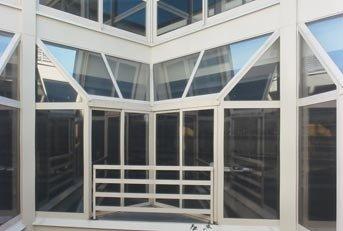 serramenti in alluminio e vetro