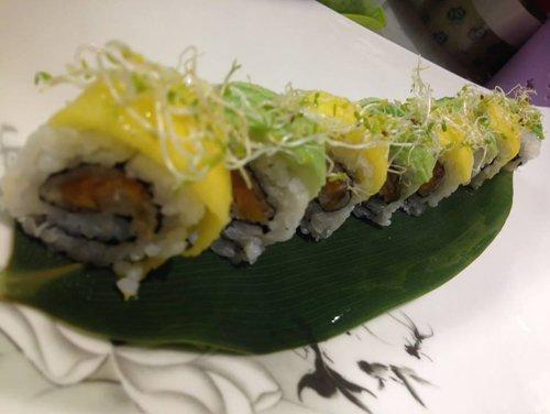 sushi tipico piatto giapponese a Parma