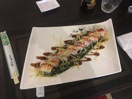 piatto tipico giapponese a Parma