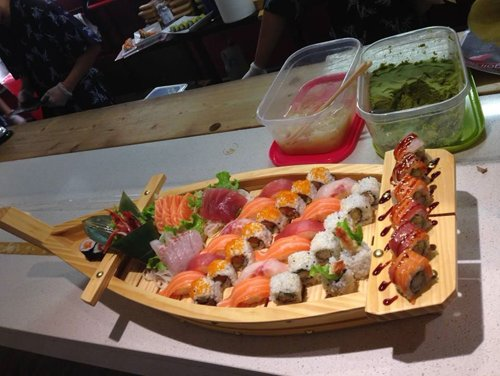 barca sushi Tommy Sushi a Parma