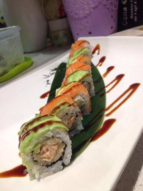 Sushi con salmone a Parma