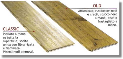 pavimento in legno stile antico
