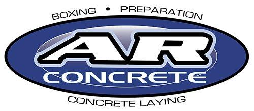 AR concrete logo