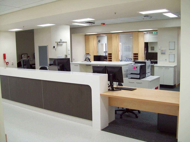 hospital desk