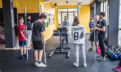 Seduta di allenamento